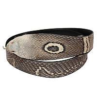 Ремень из кожи кобры с головой змеи 105 CBB H Natural