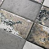 Керамічна плитка Декор Граффіті метал сірий 20x9,9x8 TG\B04\19066, фото 2