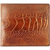 Портмоне из кожи страуса OSOL04 Tan