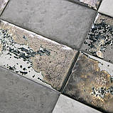 Керамічна плитка Декор Граффіті метал сірий темний 20x9,9x8 TG\C04\19067, фото 2