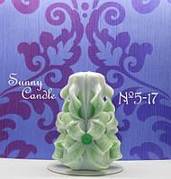 """Свадебная свеча резная ручной работы, высотой 12 см, для свадебного обряда """"Семейный очаг"""", Запорожье"""