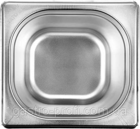 Гастроемкость GN 1/6 200 (176*162*200 мм) BL Hendi 800652, фото 2