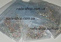 """Упаковка 1440 шт страз стеклянных """"Crystal AB"""" (аналог swarovski) ss3 (1.3 mm)"""