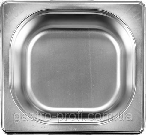 Гастроемкость GN 1/6 65 (176*162*65 мм) BL Hendi 800621, фото 2