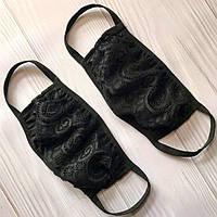 Кружевная маска для защиты лица