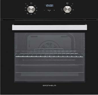 ⭐️ Духовой шкаф Grunhelm GDV 829 LB  электрический (6 программ, конвекция, гриль, таймер)
