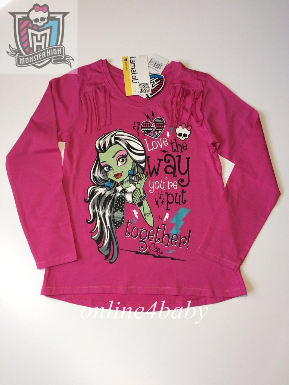 Реглан Monster High на дівчинку 13-14 років