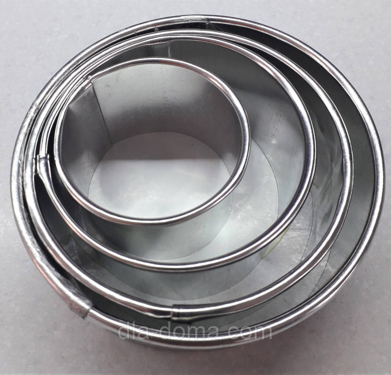 Кольцо для салата набор 4 шт.