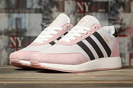 Кроссовки женские Adidas Iniki, розовые / кросівки жіночі Адидас Иники (Топ реплика ААА+)