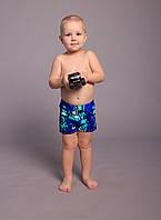 Детские купальные шорты для мальчиков (арт. 736)  28-36р. синие, фото 1