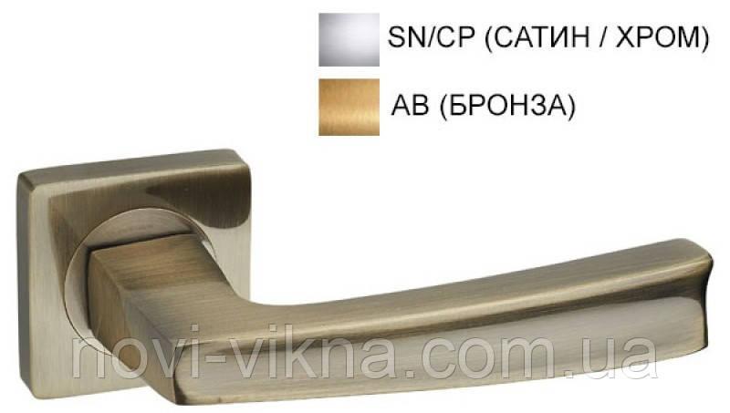 Дверная ручка на розетке KEDR R08.140