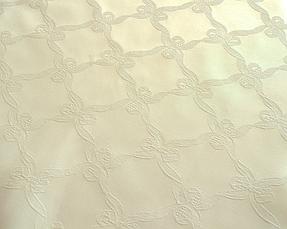 Тканина Скатертная TS-360352 Бантик 360см Шампань Італія, фото 2