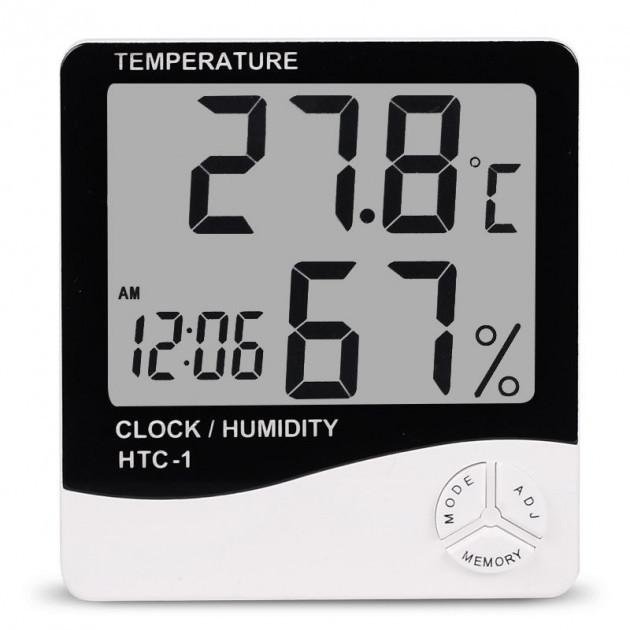 Термометр-гигрометр цифровой фото