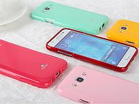 "Samsung J7 (2015) J700H TPU противоударный чехол панель накладка бампер ГЛЯНЦЕВЫЙ для телефона ""GSM GLARE"""