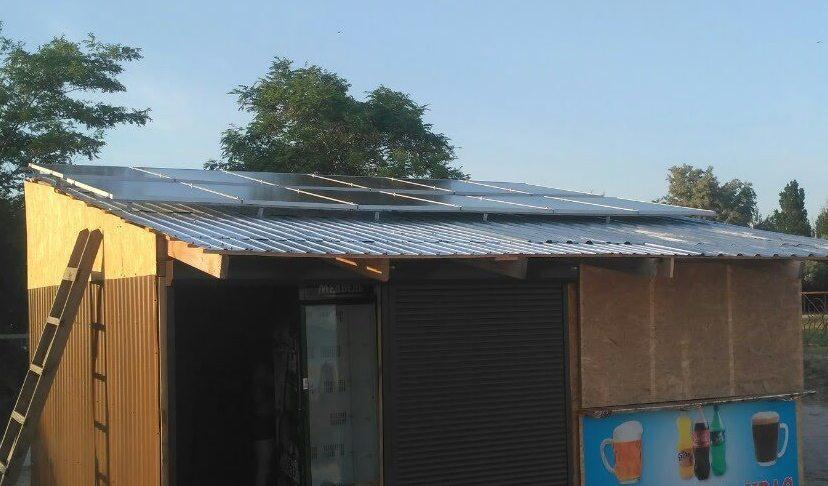 Автономна сонячна електростанція, потужність 3 кВт