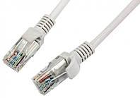 Патчкорд, витая пара для интернета Lan 20м 13525-10 серый (4452)