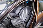 Накидки/чехлы на сиденья из эко-замши ВАЗ 2108 (VAZ 2108), фото 4