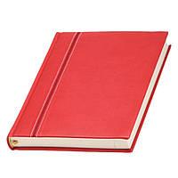 Ежедневник Ривьера датированный, кремовый блок, красный