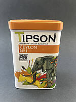 Чай Tipson Цейлонский №1/ CEYLON №1 85г ж/б