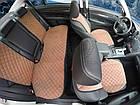 Накидки/чехлы на сиденья из эко-замши Сеат Леон 1 (Seat Leon I), фото 3
