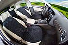 Накидки/чехлы на сиденья из эко-замши Рено Клио Симбол (Renault Clio Symbol), фото 2
