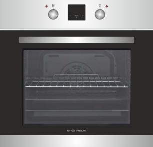 ⭐️ Духовой шкаф Grunhelm GDV 839 LI  электрический (6 программ, конвекция, гриль, таймер)