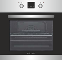 Духовой шкаф Grunhelm GDV 839 LI электрический (6 программ, конвекция, гриль, таймер)