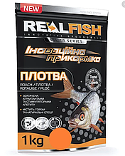 "Прикормка рыболовная Real Fish ""Плотва"" Мотыль"