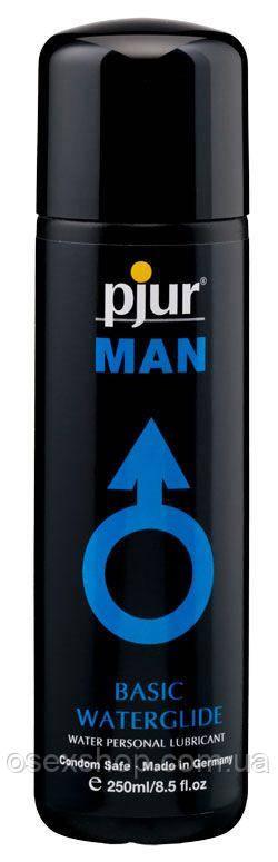 Лубрикант на водной основе pjur MAN Basic water glide 250 мл