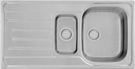 Кухонная мойка KERNAU KSS G 604 1,5B1D SMOOTH