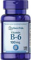 Puritan's Pride Vitamin B-6 100 mg 100 tabs