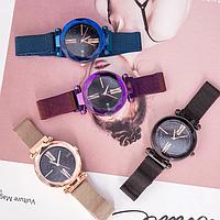 ✅ Женские часы на магнитной застёжке Starry Sky Watch | кварцевые наручные часы (Гарантия 12 мес)