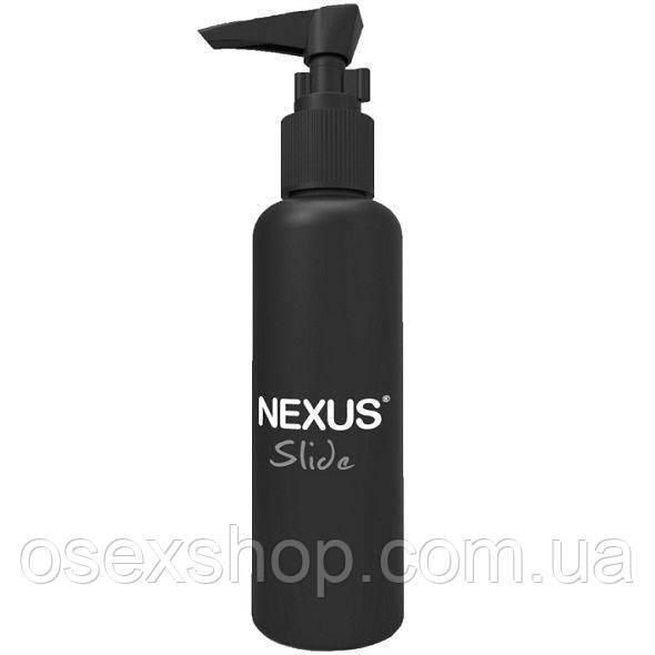 Анальная смазка Nexus Slide Waterbased (150 мл) на водной основе, супер для анальных игрушек