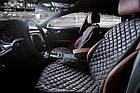 Накидки/чехлы на сиденья из эко-замши Киа Карнивал ЕХ (Kia Carnival EX), фото 5