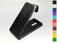 Откидной чехол из натуральной кожи для Sony Xperia 1 (Xperia XZ4)