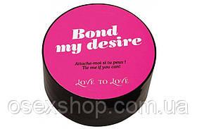Скотч для бондажа Love To Love BOND MY DESIRE (15м) Черный, не липнет к коже и волоскам