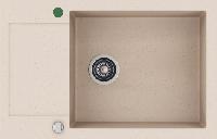 Кухонная мойка KERNAU KGS H 6078 1B1D SAND