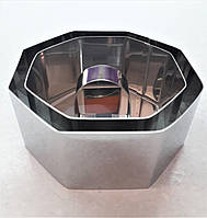 Кольцо-форма для салата с крышкой набор 2 шт., фото 1