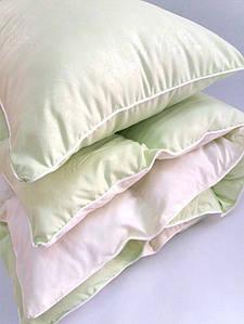 Комплект ковдра і подушка салатовий