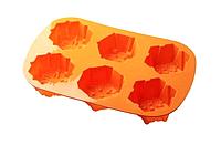 Силиконовая форма для выпечки Снежинки Empire EM-7105