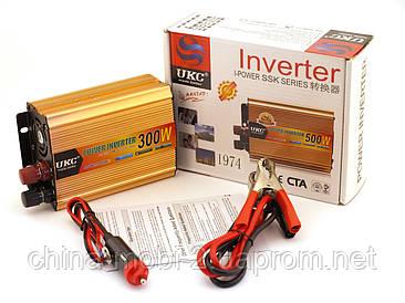 Преобразователь напряжения, инвертор UKC AC/DC 1974 12V-220V 300W