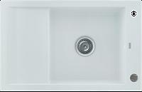 Кухонная мойка KERNAU KGS M 6078 1B1D PURE WHITE