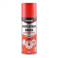 Белая литиевая смазка NOWAX White LITHIUM GREASE 200 мл NX20500