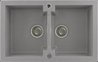 Кухонная мойка Kernau KGS A 80 2B GREY METALLIC, фото 1