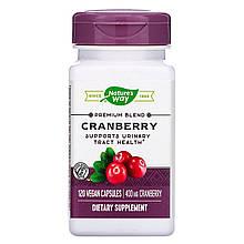 """Клюква Nature's Way """"Cranberry"""" 100% концентрат с витамином С, 400 мг (120 капсул)"""