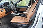 Накидки/чехлы на сиденья из эко-замши БМВ Е36 (BMW E36), фото 6