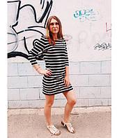 Платье женское, вязаное, рукав 3/4 OLD NAVY