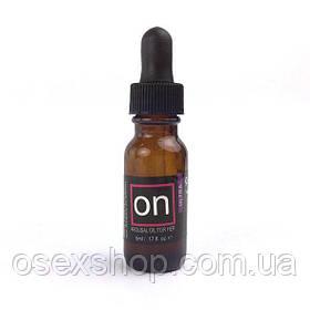 Возбуждающе капли для клитора Sensuva - ON Arousal Oil for Her Ultra (5 мл) самые мощные, до 45 мин.