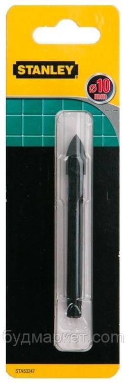 Сверло по керамике STANLEY: Ø = 10 мм STA53247-QZ