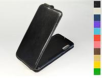 Откидной чехол из натуральной кожи для Samsung Galaxy A70 2019 A705F